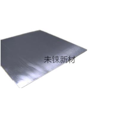 Molybdenum rhenium plates