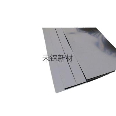 Tungsten rhenium plates