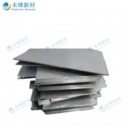 Rhenium plates